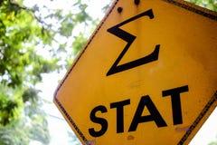 Stat teken Stock Fotografie