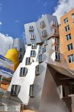 Stata Center of MIT, Boston, USA. Modern architecture the Stata Center designed by Frank Gehry in Massachusetts Institute of Technology, Cambridge, Massachusetts Royalty Free Stock Images