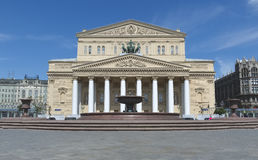 State Academic Bolshoi Theatre, Moscow Stock Photography