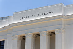 State of Alabama Royalty Free Stock Image
