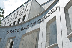 State Bar of Georgia Royalty Free Stock Photography