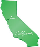 State of California Royalty Free Stock Photo