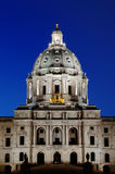 State Capital. Picture of Minnesota State Capital Building Royalty Free Stock Image