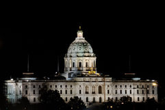 State Capital. Picture of Minnesota State Capital Building Stock Photography