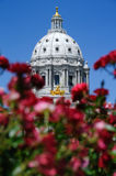 State Capital. Picture of a Minnesota State Capitol Royalty Free Stock Photo