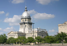 State Capital Building. Springfield, Illinois Monumental Architectural United States Landmark Stock Photography