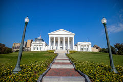 The State Capital building in Richmond Virginia Stock Images