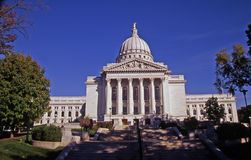 The State Capital full view Royalty Free Stock Image