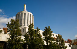 State Capital Salem Oregon Government Downtown Stock Image