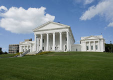 State Capital of Virginia. Virgina State Capital building in Richmond, Virginia Stock Photography