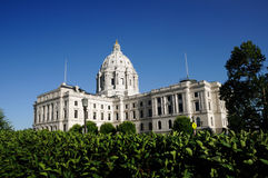 State Capitol. Picture of a Minnesota State Capitol Royalty Free Stock Photo