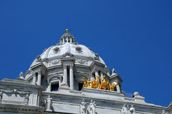 State Capitol. Picture of a Minnesota State Capitol Stock Photography