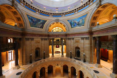 State Capitol. Picture of inside Minnesota State Capital Royalty Free Stock Photo
