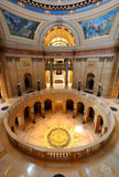 State Capitol. Picture of inside Minnesota State Capital Royalty Free Stock Image