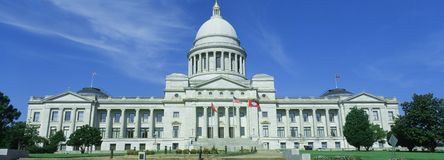 State Capitol of Arkansas Royalty Free Stock Photo