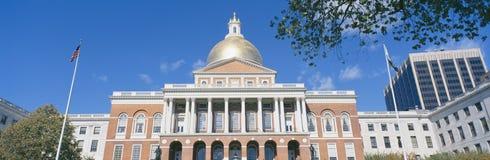 State Capitol  Boston. In  Massacushetts Royalty Free Stock Image