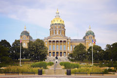 State Capitol Building in Des Moines Stock Photos