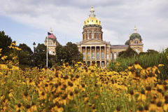 State Capitol Building in Des Moines Stock Photography