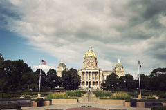 State Capitol Building in Des Moines Royalty Free Stock Images