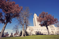 State Capitol Building in Lincoln royalty free stock photos