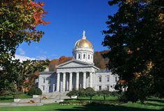The State Capitol Building in Montpelier Vermont Stock Photos