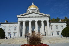 State Capitol Building in Montpelier Vermont Stock Photography