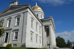 State Capitol Building in Montpelier Vermont Royalty Free Stock Image