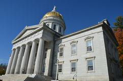 State Capitol Building in Montpelier Vermont Stock Photo