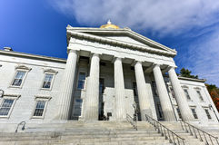 The State Capitol Building in Montpelier Vermont, USA Royalty Free Stock Photography