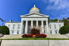 The State Capitol Building in Montpelier Vermont, USA Royalty Free Stock Photos