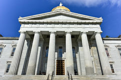 The State Capitol Building in Montpelier Vermont, USA Royalty Free Stock Image