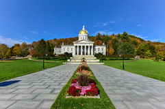 The State Capitol Building in Montpelier Vermont, USA Royalty Free Stock Images
