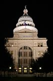 State Capitol Building at Night in Downtown Austin, Texas. A nice clean shot of the Texas State Capitol Building in downtown Austin, Texas at night Stock Photo