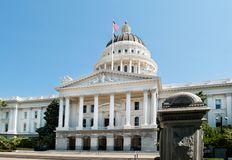 California State Capitol in Sacramento Stock Photography