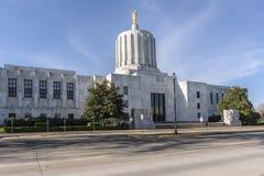 State capitol building Salem Oregon. Royalty Free Stock Image