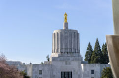 State capitol building Salem Oregon. Stock Photos