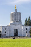 State capitol building Salem Oregon. stock photo