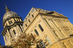 State Capitol Building in Springfield Royalty Free Stock Photography