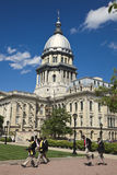 State Capitol Building in Springfield Royalty Free Stock Photo