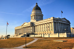 State Capitol Building, Utah. State Capitol Building in Salt Lake City, Utah. The building houses the chambers of the Utah State Legislature, the offices of the Royalty Free Stock Photo