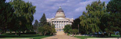 State Capitol in daylight Royalty Free Stock Photo