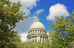 State Capitol dome Stock Image