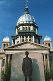 State Capitol of Illinois. Springfield Royalty Free Stock Image