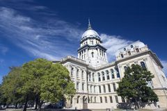 State Capitol of Illinois. In Springfield Royalty Free Stock Photography