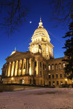 State Capitol of Illinois in Springfied Stock Images