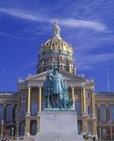 State Capitol of Iowa Royalty Free Stock Image