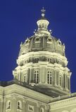 State Capitol of Iowa, Des Moines Stock Photos