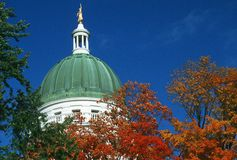 State Capitol of Maine, Royalty Free Stock Image