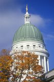 State Capitol of Maine Royalty Free Stock Images