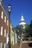 State Capitol of Maryland Stock Image